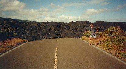 Hitch Hiking Hawaii Big Island