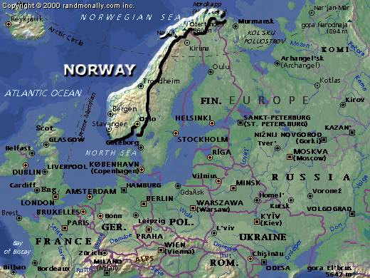 Norway A Short Travel Guide To Major Attractions And Hikes In Norway - Norway map attractions